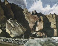 Edward Hopper - Shoshone Cliffs, Wy, 1941