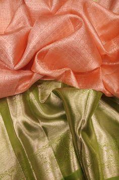 Pink Handloom Kanjeevaram Pure Silk Saree With Big Border   #kanjeevaramsaree#