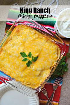 @KatieJasiewicz used her OXO 14 Piece Bake, Serve and Store Set to whip up this delicious, filling King Ranch Chicken Casserole!