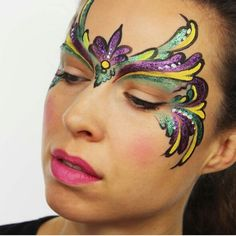 Mardi Gras Face Painting by Ashlea Henson                                                                                                                                                                                 More