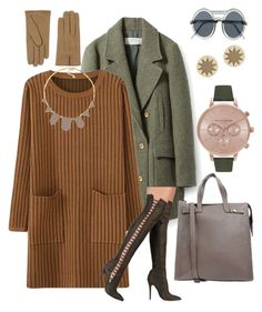 """""""There's a Ladder in my Boots"""" by falonstarrider on Polyvore featuring Zara, Borsetteria Napoli 1985, Olivia Burton, House of Harlow 1960, Le Specs, Orciani and ootd"""