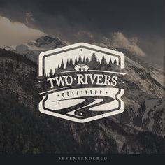 Badge style logo design with a rustic and distressed feel.