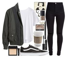 """""""don't think I won't"""" by velvet-ears ❤ liked on Polyvore featuring NARS Cosmetics, Vans, Athleta, H&M, New Look, Kara, Repossi and Made"""