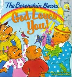 e-Book Sale: The Berenstain Bears God Loves You! ~ 99 cents!  {read it on your iPad, Kindle, Phone, or Computer!}