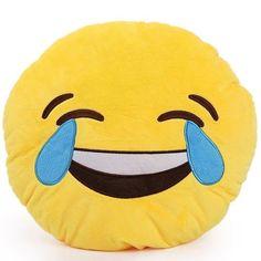 Emoji emoticones iconos ropa de cama de edredón individual Doble King Almohada Cojín