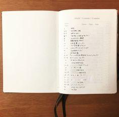 生活の全てを1冊のノートに記録し管理する!私のバレットジャーナルの中身紹介。 - わたしのバレットジャーナル Bujo, Notebook, Bullet Journal, Study, Life, Youtube, Studio, Studying, The Notebook