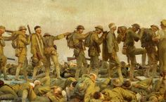 It's the first major exhibition of artwork created by American artists to cope with — and document — the horrors of World War I.