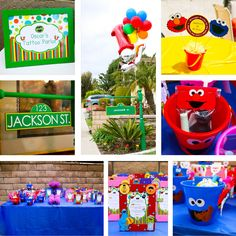 Our latest party - Sesame Street First Birthday Soiree