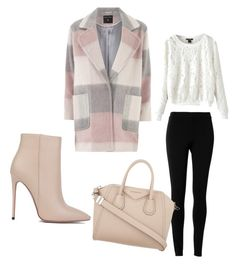 """""""Untitled #374"""" by pumpkin-hart on Polyvore featuring Max Studio, Dorothy Perkins, Akira Black Label and Givenchy"""