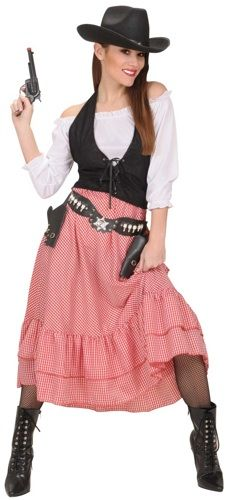 caa8d0b09e western cowgirl home made costume