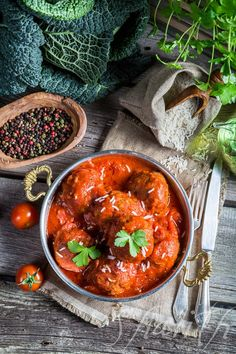 Homemade meatballs with tomato sauce by shaiith on 500px