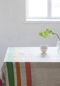 MERU tablecloth/blanket   Lapuan Kankurit.Linen, Hudson's bay inspired