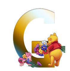 Winnie The Pooh, Alphabet, Tweety, Clip Art, Symbols, Letters, Painting, Board, Film