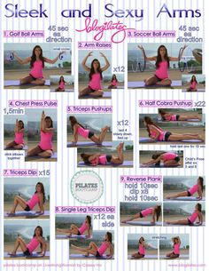 Sexy arms workout... I was so happy to find a workout I could do at home without any weights.... just got done... OUCH!!! Glad I pinned this!