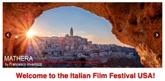 The Italian Film Festival USA takes place in 14 American cities-from the Atlantic to the Pacific-and is the largest festival dedicated exclusivelly to Italian film in the USA. Italian Film Festival, St Louis Mo, Monument Valley, Cities, Comic Books, Graphic Design, Usa, American, World