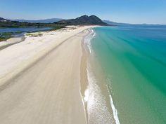 Praia Ancoradoiro en Muros Galicia