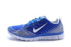 size 40 4efb8 5ce4c Miglior Nike Free Run 5.0 V4 Uomini Scarpe Blu Argento Online Nike Free Run