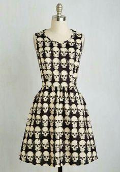 Skulls by Modcloth - Pin up Fashion.