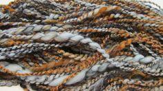 STRANGERS IN the DARK handspun sequined art yarn by gargoylelover