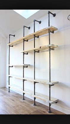 Ideas for my new house- adapt to dressing room open wardrobe with run bars I reckon :)