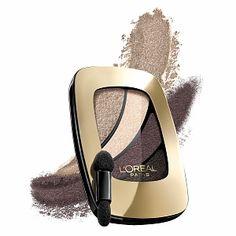 L'Oreal Colour Riche Eyeshadow Quads Review