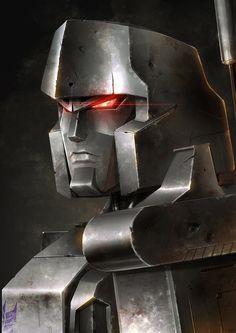 Transformers - Megatron by Priscilla Tramontano