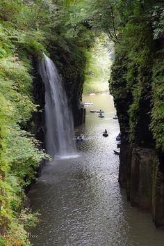 Takachiho Waterfall | par Andrés Guerrero