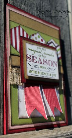 Magical Season Card by Stampin Sammy