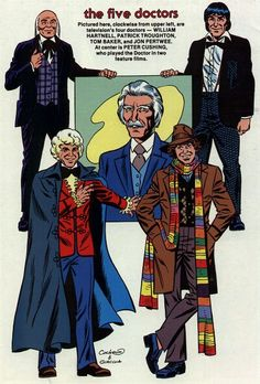 Cockrum does the first four Doctors plus Peter Cushing