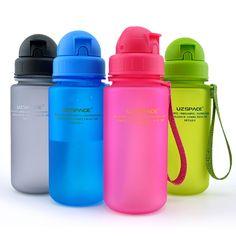 Kids Water Bottle Straw Plastic Cup Leak Proof For Sports School Travel Using  #KidsWater