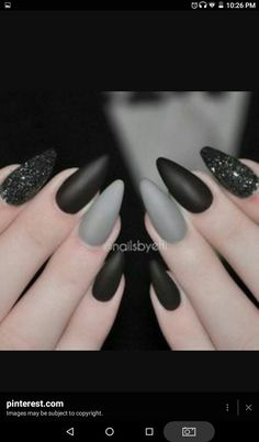 These nails kind of remind me of Lady Gaga