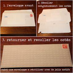 Recycler ses enveloppes