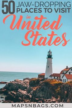 Ultimate USA Travel Bucket List: 50 Epic Places to Visit in USA - - Ultimate USA Bucket list! Looking for the best places to visit in America? This list has only the best destinations in the US with lots of things to do and road trip tips. Us Travel Destinations, Best Places To Travel, Cool Places To Visit, Bucket List Destinations, Adventure Time, Adventure Travel, Road Trip Usa, Weekend Getaways For Couples, Weekend Trips
