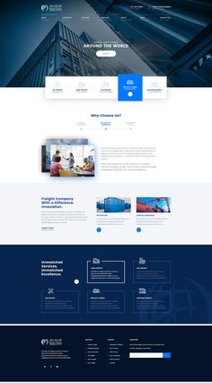 The website template should give a professional look and feel for the user. Different industry website design is different as per its client needs Corporate Website Design, Web Design Websites, Business Web Design, Site Web Design, Creative Web Design, Website Design Layout, Web Design Trends, Web Layout, Modern Web Design