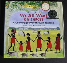 Book - We All Went On Safari by Laurie Krebs/ illustrator, Julia Cairns