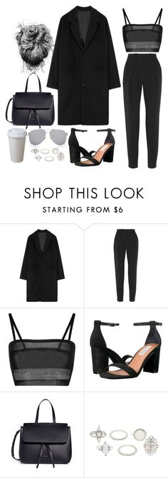 """""""Untitled #4692"""" by lilaclynn ❤ liked on Polyvore featuring Proenza Schouler, Steve Madden, Mansur Gavriel, Charlotte Russe, Yves Saint Laurent, YSL, saintlaurent, SteveMadden, yvessaintlaurent and CharlotteRusse"""