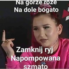 Linkiewicz💪🤟👊 #teamlinkiewicz #linkiewicz #martalinkiewicz #martusia #goslewska #esmeralda #famemma3… – tacky-atom Very Funny Memes, Haha Funny, Funny Jokes, Reaction Pictures, Funny Pictures, Polish Memes, Happy Photos, Everything And Nothing, I Cant Even
