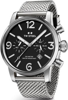 TW Steel Watch Maverick Chronograph #basel-16 #bezel-fixed #bracelet-strap-steel #brand-tw-steel #case-material-steel #case-width-45mm #chronograph-yes #classic #comparison #date-yes #delivery-timescale-1-2-weeks #description-done #dial-colour-black #gender-mens #movement-quartz-battery #new-product-yes #official-stockist-for-tw-steel-watches #packaging-tw-steel-watch-packaging #style-dress #subcat-maverick #supplier-model-no-twmb13 #warranty-tw-steel-official-2-year-guarantee…