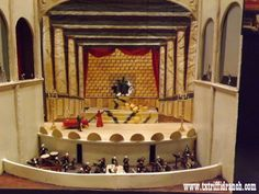 Model of theater