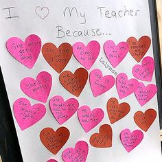 This has to be the simplest, sweetest teacher valentine gift idea ever! Perfect for a class party! gift for family A Crazy Awesome Teacher Valentine Gift from the Whole Class - LalyMom Kinder Valentines, Valentines Day Food, Valentines Day Activities, My Funny Valentine, Valentine Day Crafts, Valentine Party, Valentine Ideas, Easter Crafts, Valentinstag Party