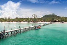 Weißer Strand, türkisfarbenes Meer und klares Wasser. So stellte ich mir mein Inselparadies vor. In Kambodscha habe ich es mit Koh Rong Samloem gefunden.
