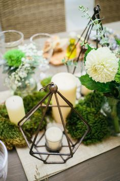 Botanical table decor: http://www.stylemepretty.com/living/2015/08/30/rustic-chic-outdoor-dinner-party-from-fashionable-hostess/ | Photography: Fashionable Hostess - http://www.fashionablehostess.com/