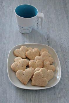 San Valentino: biscotti al malto di riso (senza zucchero)