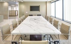Neolith Table | Calacatta Polished 12 mm