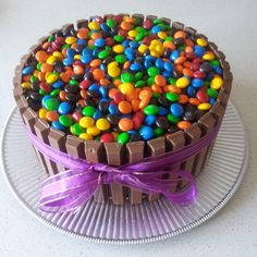 Kit Kat Cake www.thelittleleaf.net