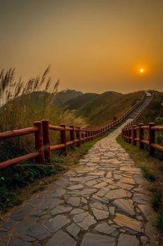 Sunset Landscape - Fantastic view