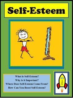 Self-Esteem Lesson. Students will learn what self-esteem is, why self-self-esteem is important, how self-esteem is developed, and how students can boost self-esteem. https://www.teacherspayteachers.com/Product/Self-Esteem-1641660