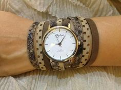 Leather Watch by Sigal Levi https://www.etsy.com/shop/SigalLeviLeather