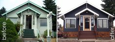 10 To-Die-For House Exterior Makeovers | Home Owner Nut