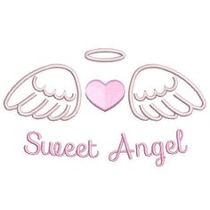 This is a beautiful set of angel wings with a heart fill stitch machine embroidery design. 3 sizes are supplied with your purchase for inch hoops. Baby Drawing, Drawing Tips, Stitch Et Angel, Angel Wings Drawing, Cartoon Angel Wings, Birth Announcement Template, Embroidery Hearts, Angel Tattoo Designs, Machine Embroidery Patterns